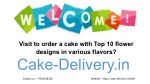 On any occasion, who choose to order a cake with flowers designed in different flavors?