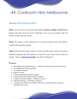 Party Hire Mobile Coolroom - AK Coolroom Melbourne