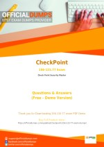 156-115.77 - Learn Through Valid CheckPoint 156-115.77 Exam Dumps - Real 156-115.77 Exam Questions
