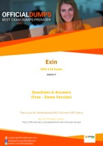 EX0-118 - Learn Through Valid Exin EX0-118 Exam Dumps - Real EX0-118 Exam Questions