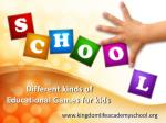 Educational games for kids in Orange County CA