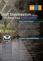 Peter Cox - Wall Stabilisation