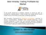 Best intraday trading profitable by Market