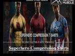 Hustle From Muscle -Superhero Compression Shirts