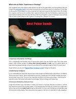 Top Poker Winning Hands in Delhi