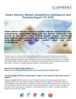 Smart Sensors Market Growth Till, 2018-2026 : Coherent Market Insights