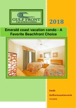 Emerald coast vacation condo - A Favorite Beachfront Choice
