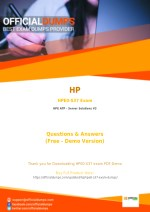 HPE0-S37 Dumps - Affordable HP HPE0-S37 Exam Questions - 100% Passing Guarantee