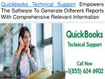 Quickbooks Technical Support Makes The Software Compatible To Different Report Formats