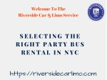 Choose A Rental Party Bus For Every occasion In New York