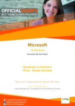 70-768 - Learn Through Valid Microsoft 70-768 Exam Dumps - Real 70-768 Exam Questions