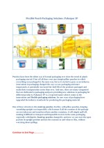 Flexible Pouch Packaging Solutions - Paharpur 3P