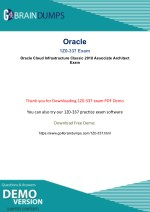 Oracle 1Z0-337 Exam questions - Free Updated PDF demo