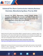 Universal Fire Alarm Communicator Market Analysis by Application, Drivers and Opportunities By 2022