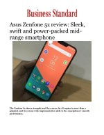 Asus Zenfone 5z review: Sleek, swift and power-packed mid-range smartphone