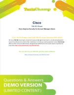 How To Prepare Cisco 700-551 Exam ?