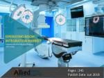 Operating Room Integration Market to Reach $4,163 Million, Globally, by 2025