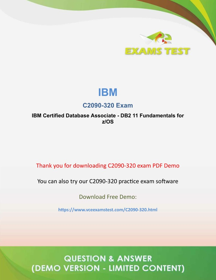 PPT - Get Latest IBM C2090-320 VCE Exam Software 2018