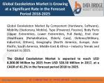 Global Exoskeleton Market is Growing at a Significant Rate in the Forecast Period 2018-2025
