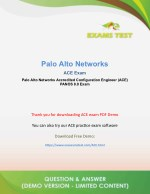 Get Paloalto Networks ACE PAN-OS 8.0 VCE Exam Software 2018 - [DOWNLOAD and Prepare]