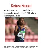 Hima Das: From rice fields of Assam to World U-20 Athletics Championships