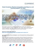 Retail Analytics Market Trends, Drivers, Strategies, Applications and Competitive Landscape Till 2025