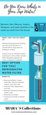 Know Whats In Your Tap Water And Why You Require A Refrigerator Water Filter