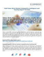 GaN Power Devic Market Competitive Intelligence andTracking Report Till 2025