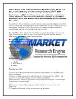 United States Avian Influenza Vaccines Market Analysis, Share and Size, Trends, Industry Growth and Segment Forecasts To