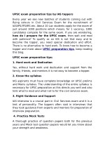 UPSC exam preparation tips by IAS toppers
