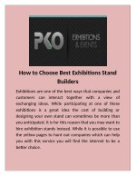 Best Exhibition Booth construction in Dubai