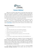Career Advisor