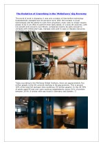 Coworking space in London by LeadCandy