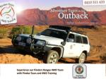 Experience our Flinders Ranges 4WD Tours with Pindan Tours and 4WD Training