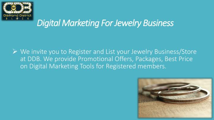 digital marketing for jewelry business n.