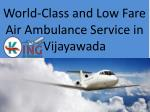 World-Class and Low Fare Air Ambulance Service in Vijayawada