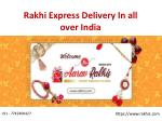 Rakhi Express Delivery In India