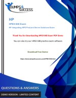 HPE0-S48 Dumps Questions - HP ProLiant Server Solutions [HPE0-S48] Exam Question