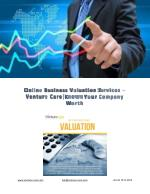 Online Business Valuation Services –Venture Care|Known Your Company Worth