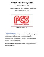 Basics of Retail POS System that every Retailer must know