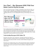 Save Time! —Buy Diazepam 10MG With Your Debit Card Or PayPal Account