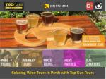 Relaxing Wine Tours in Perth with Top Gun Tours
