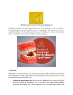 The Benefits of Carriere Orthodontic Appliances