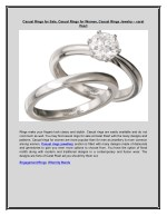 Casual Rings for Sale, Casual Rings for Women, Casual Rings Jewelry – carat Pearl