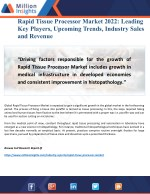 Rapid Tissue Processor Market Future Investments, Business Opportunities, New Trends
