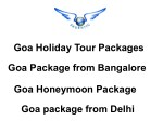 Goa Tour Packages, Goa Holidays Trip Planner - ShubhTTC