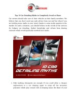 Top 10 Car Detailing Myths to Completely Avoid or Share