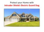 Home alarm Systems | Intruder Shield