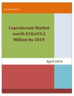 Caprolactam Market projected to reach $18,659.2 Million by 2019