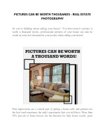 PICTURES CAN BE WORTH THOUSANDS…FOR REAL | AdvantageU